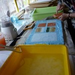 Morley College, south London - papermaking workshop