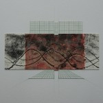 Chine Colle Print with Hand Made Paper - DNA Shift