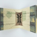 Artists Book using handmade paper and architectural photography